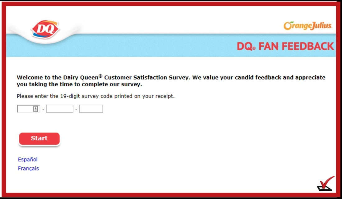 Dairy Queen Feedback